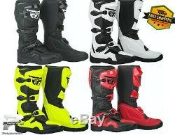 Fly Racing Maverick Boots Motocross MX Off Road Atv/utv Dirt Bike All Size/color