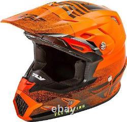 Fly Racing Toxin MIPS Cold Weather Helmet MX Motocross Dirt Bike ATV Snow