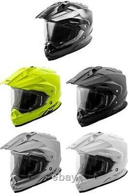 Fly Racing Trekker Helmet MX Motocross Off-Road Dirt ATV Enduro Dual Sport