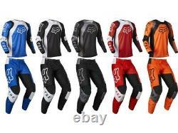 Fox Racing 180 Lux Race Jersey & Pant Combo Men's Motocross/MX/ATV Dirt Bike'22