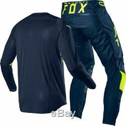 Fox Racing 360 Bann Motocross Gear Set Jersey & Pant Kit Offroad MX ATV Dirt