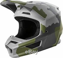 Fox Racing Adult Camo V1 Przm Camo Dirt Bike Helmet MX ATV 2020