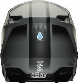 Fox Racing Adult Matte Black/Grey V2 Vlar Dirt Bike Helmet MX ATV 2020