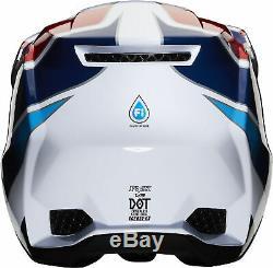 Fox Racing Adult Multi/Red/White/Blue V3 Durven Dirt Bike Helmet MX ATV 2020