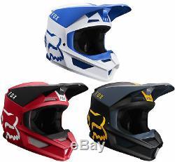 Fox Racing Adult V1 Mata Dirt Bike Helmet Motocross ATV UTV