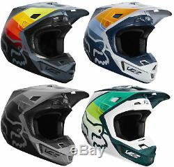 Fox Racing Adult V2 Murc Dirt Bike Helmet Motocross ATV UTV