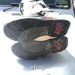 Fox Racing Comp 5 MX Dirt Bike Motocross Boots Black Mens Size 10