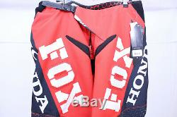 Fox Racing HONDA 360 Pants Size 36 MX Motocross Dirt Bike Off-Road ATV Mens