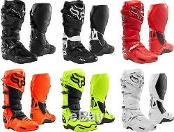 Fox Racing Instinct Boots MX Motocross Dirt Bike Off-Road ATV Mens Gear