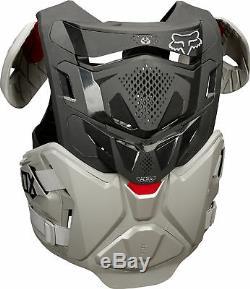 Fox Racing Mens Airframe Pro Grey Dirt Bike Roost Guard Motocross ATV MX