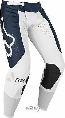 Fox Racing Mens Airline Navy Blue/White Dirt Bike Pants Motocross ATV MX