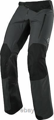 Fox Racing Mens Charcoal Grey Legion Downpour Dirt Bike Pants MX ATV Off-Road