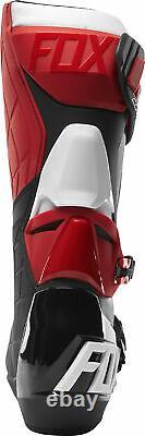 Fox Racing Mens Comp R Red/Black/White Dirt Bike Boots Motocross ATV MX