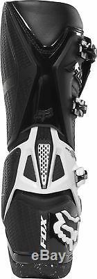 Fox Racing Mens Instinct Black/White Dirt Bike Boots Motocross ATV MX