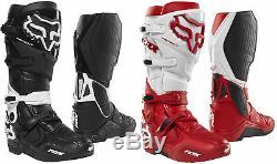 Fox Racing Mens Instinct Dirt Bike Boots Motocross ATV MX