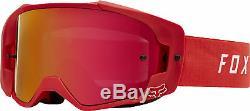 Fox Racing Mens Vue Red Dirt Bike Goggles Motocross ATV MX