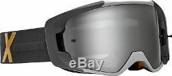 Fox Racing Mens Vue Royl Black/Grey Dirt Bike Goggles Motocross ATV MX