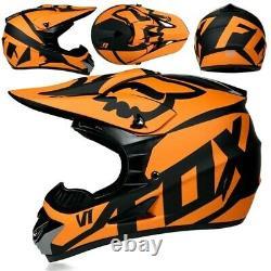 Fox Racing V1 Helmet MX Motocross Dirt Bike Off-Road ATV MTB Adult Gear Dirt X