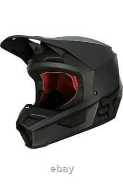 Fox Racing V1 Helmet MX Motocross Dirt Bike Off-Road ATV MTB UTV Adult Matte
