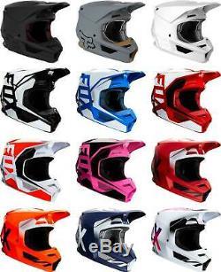 Fox Racing V1 Helmet MX Motocross Dirt Bike Off-Road ATV UTV MTB Men Women