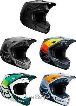 Fox Racing V2 Helmet MX Motocross Dirt Bike Off-Road ATV MTB Adult Gear