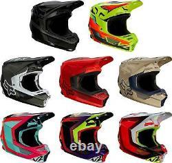 Fox Racing V2 Helmet MX Motocross Dirt Bike Off-Road ATV MTB UTV Adult