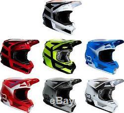 Fox Racing V2 Helmet MX Motocross Dirt Bike Off-Road ATV UTV MTB Men Women