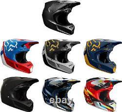 Fox Racing V3 Helmet MX Motocross Dirt Bike Off-Road ATV MTB Adult Gear