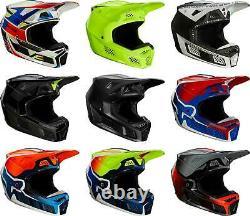 Fox Racing V3 RS Helmet MX Motocross Dirt Bike Off-Road ATV MTB UTV Adult