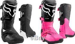 Fox Racing Women's Comp Boots MX Motocross Dirt Bike Off-Road ATV Gear