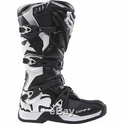 Fox Racing Womens Comp 5 Black/White Dirt Bike Boots Motocross ATV MX