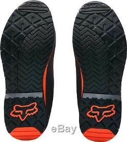 Fox Racing Youth Comp 5Y Orange/Black Dirt Bike Boots Motocross ATV MX Size7 NEW