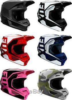 Fox Racing Youth V1 Helmet MX Motocross Dirt Bike Off-Road ATV MTB Boys Girls