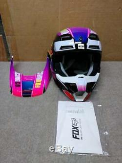 Fox Racing Youth V1 Helmet MX Motocross Dirt Bike Off-Road ATV MTB Boys Girls YS