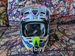 Fox Racing Youth V2 Kresa Helmet MX Motocross Dirt Bike Off-Road ATV MTB Boys