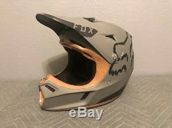 Fox V3 Motocross Helmet Moth Mx Downhill Enduro DIRT BIKE ATV OFF-ROAD
