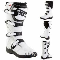GP-Pro Comp Series 2.1 Motocross Boots Enduro MX Off-Road Dirt Quad Boots White