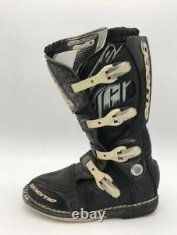 Gaerne SG10 Motocross MX Moto Dirt Off Road ATV Quad Boots Men's US 10 Black