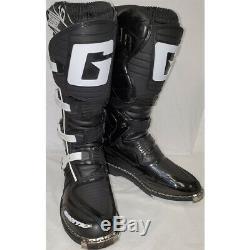 Gaerne SG-10 Dirt MX ATV SxS Offroad Motocross Boots Black Size 10 US / 44.5 EU