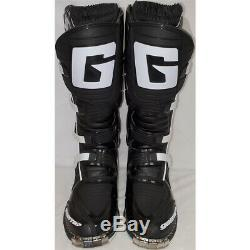 Gaerne SG-10 Dirt MX ATV SxS Offroad Motocross Boots Black Size 11 US / 46 EU