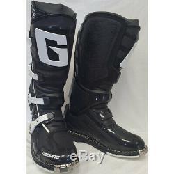 Gaerne SG-11 Dirt MX ATV SxS Offroad Motocross Boots Black Size 8 US / 42 EU