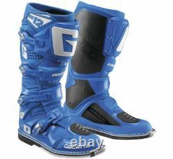 Gaerne SG-12 Boots Solid Blue MX Motocross Off Road Dirt Bike ATV/UTV