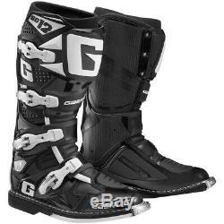 Gaerne SG-12 Dirt MX ATV SxS Offroad Motocross Boots Black Size 10 US / 44.5 EU