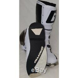 Gaerne SG-12 Dirt MX ATV SxS Offroad Motocross Boots White Size 10 US / 44.5 EU