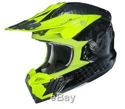 HJC i50 Artax Motocross Dirt ATV Helmet HI VIS