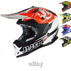 Just1 J32 Pro Rave Motocross Helmet MX Dirt Bike Racing ATV DD-Ring ECE ACU Gold