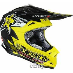 Just1 J32 Pro Rockstar 2.0 Motocross Helmet Off Road ATV Dirt Bike DD-Ring ECE