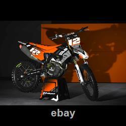 KTM Completo Decalcomanie Motocross MX ATV grafica DIRT RIDER
