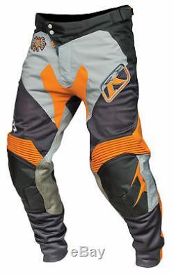 Klim Mens Orange/Grey XC Dirt Bike Pants MX ATV Motocross Off-Road 2016