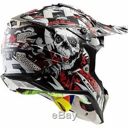 LS2 Subverter Voodoo MX ATV Motocross Dirt Bike Racing Helmet All Sizes